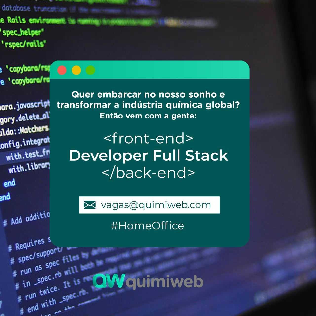 Desenvolvedor(a) Web Full Stack (Front e Back)