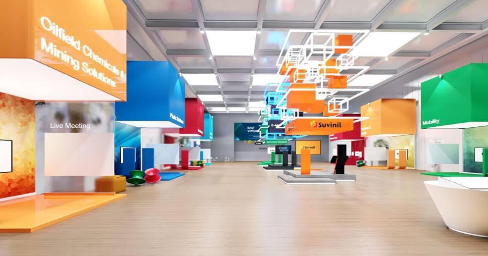 BASF promove a primeira feira virtual de negócios em formato inovador