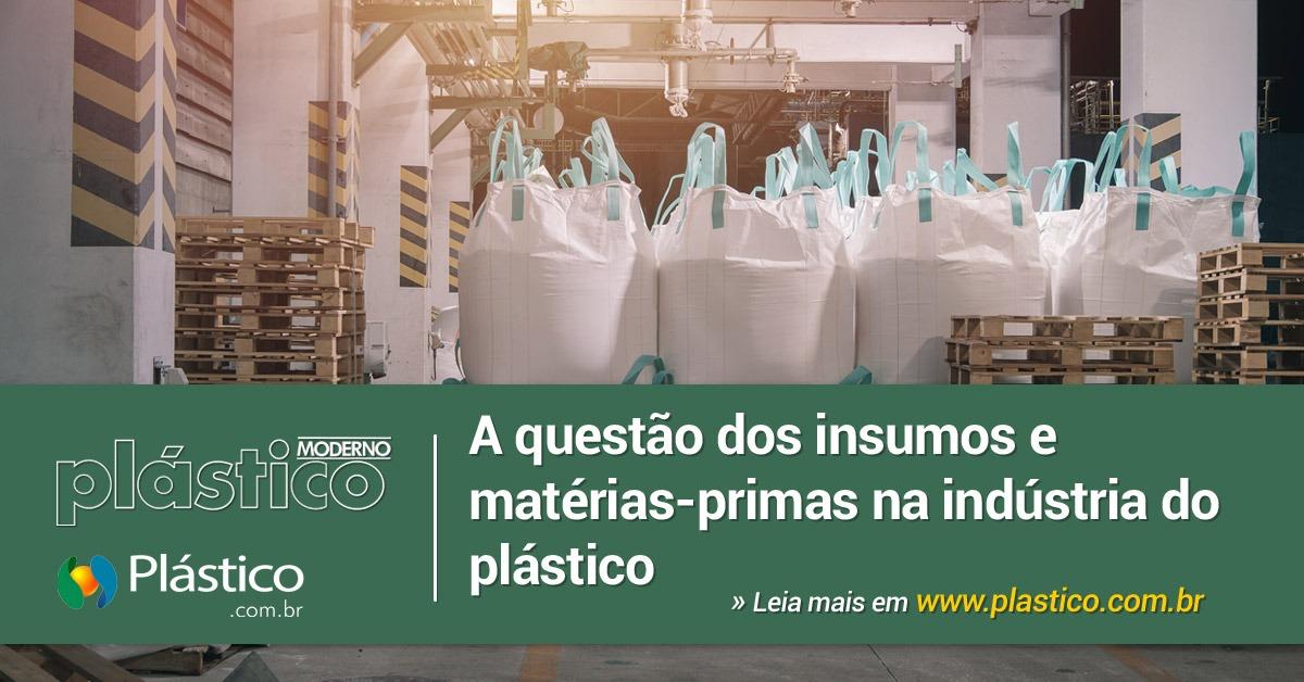 A questão dos insumos e matérias-primas na indústria do plástico