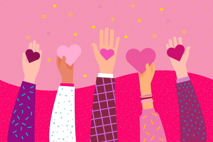 """""""O papel social da empresa e da sociedade não é só usar o laço rosa, é sim fazer um Outubro Rosa de esperança, de perspe"""