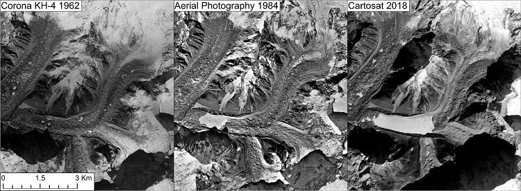 Geleiras da região do Everest diminuindo mesmo em grandes altitudes