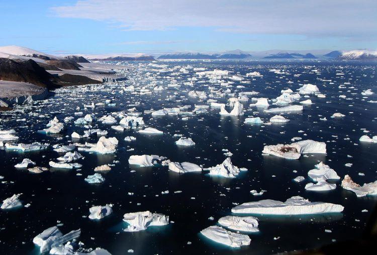 Mudança nos rios atmosféricos pode acelerar o degelo da Antártida