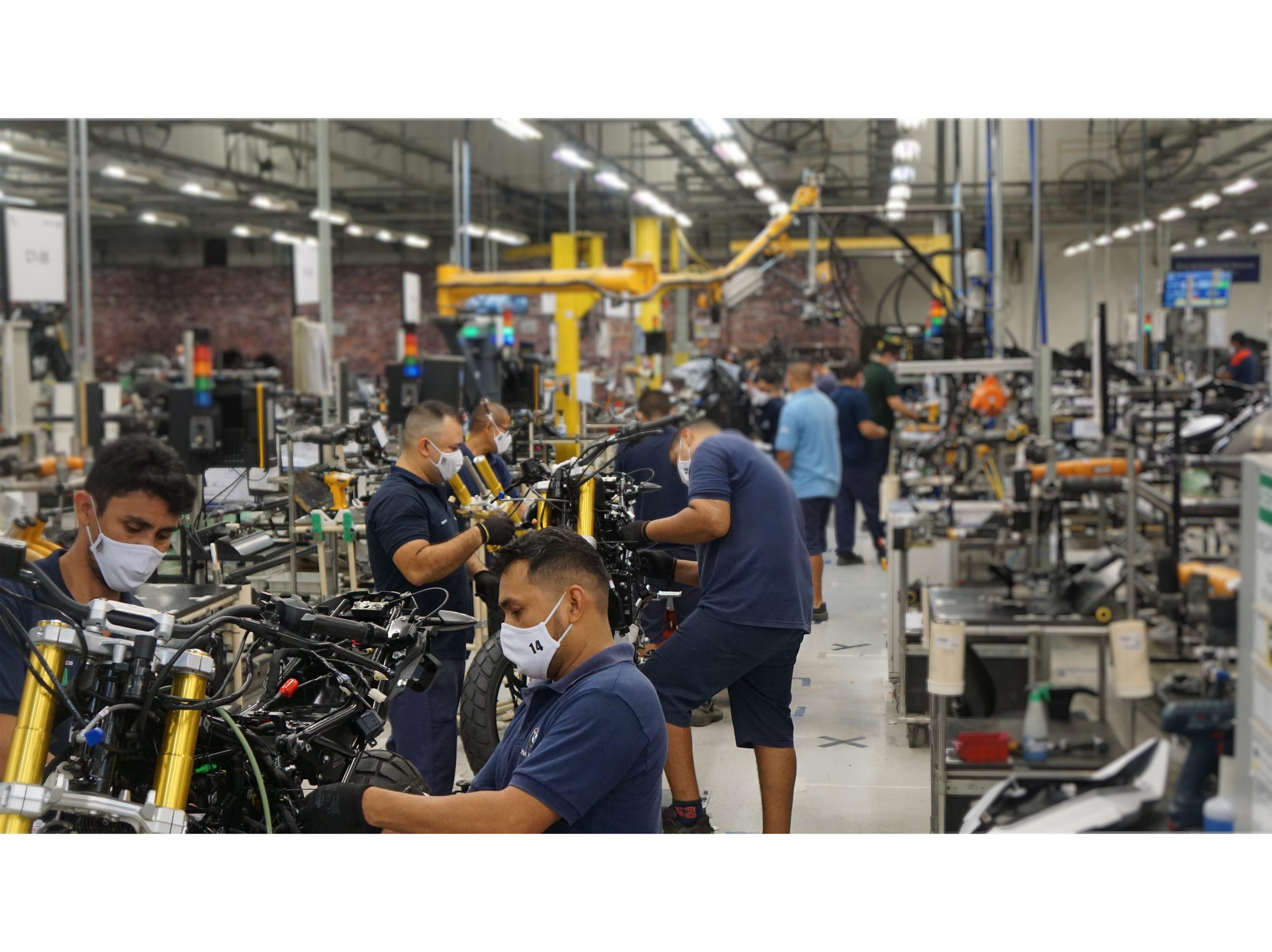 Fábrica do BMW Group em Manaus amplia capacidade de produção para 15 mil motocicletas ao ano
