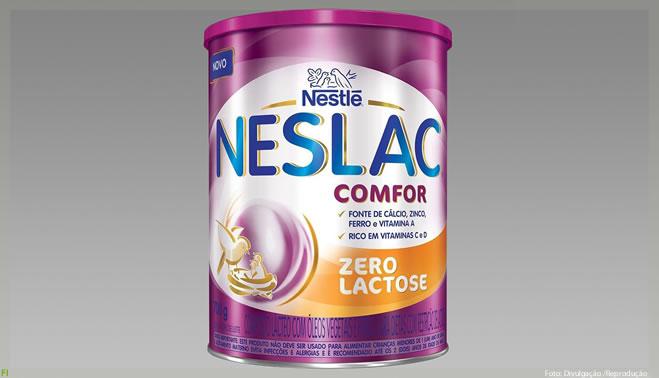 Nestlé apresenta Neslac Comfor Zero Lactose