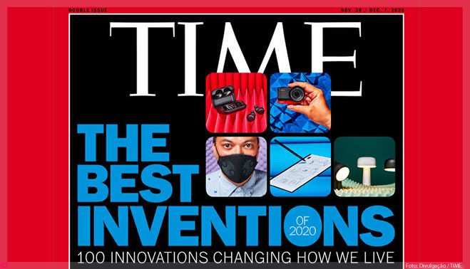 As 100 melhores invenções de 2020 pela Time