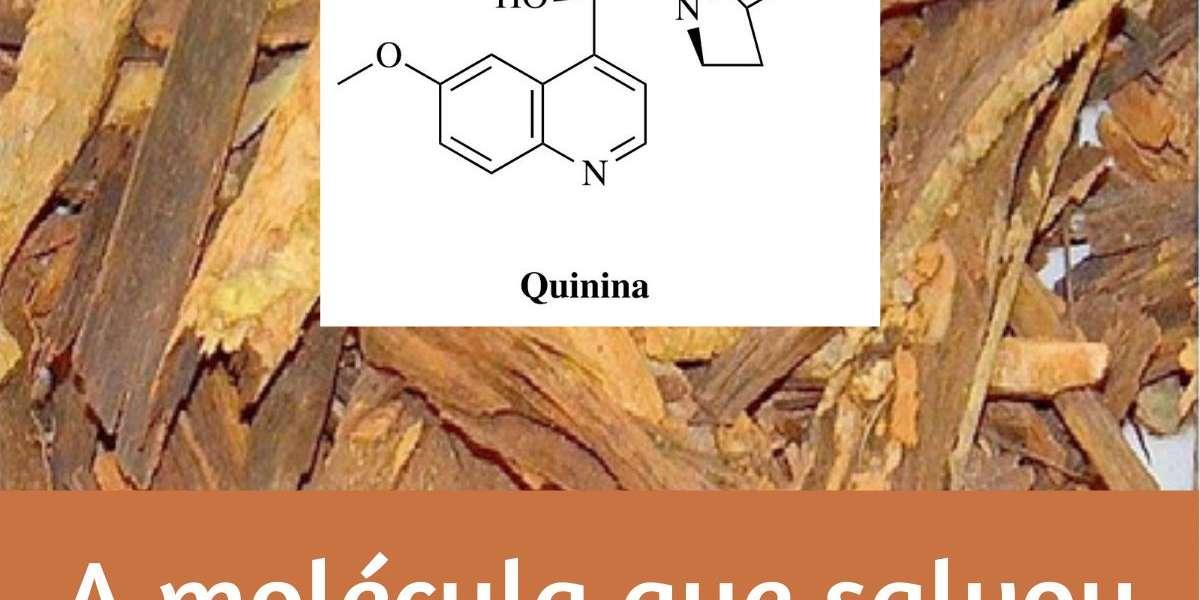 Quinina - a molécula que salvou milhões de vidas