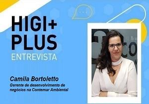 Higiplus Entrevista – Camila Bortoletto